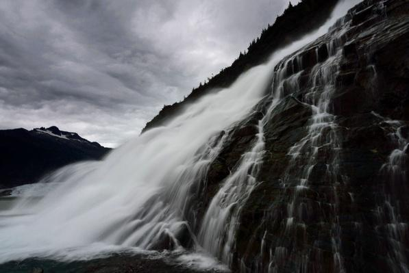 Mendenhall Glacier Falls | Earth's Surface