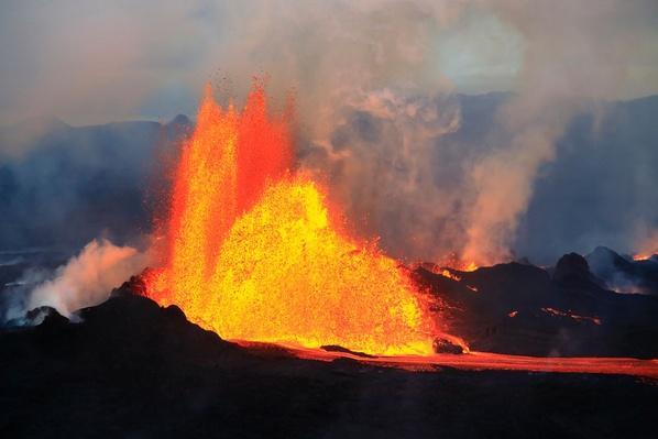 Holuhraun Volcanic Eruption | Earth's Surface