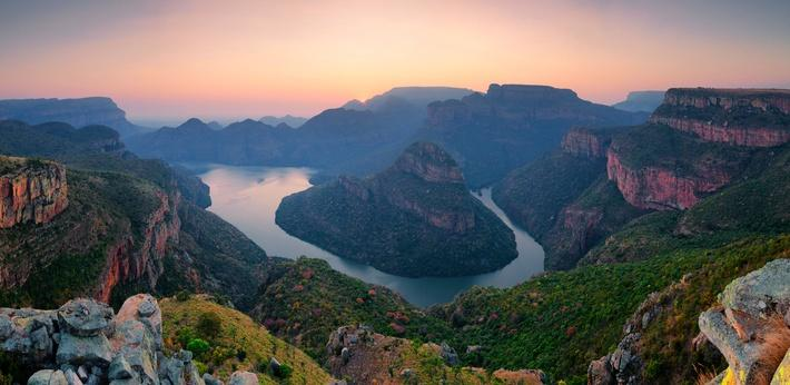 Blyder River Canyon Winter Sunrise | Earth's Surface