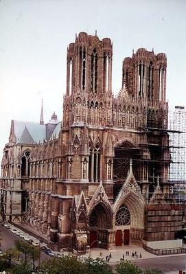 Exterior facade, 13th-13th century