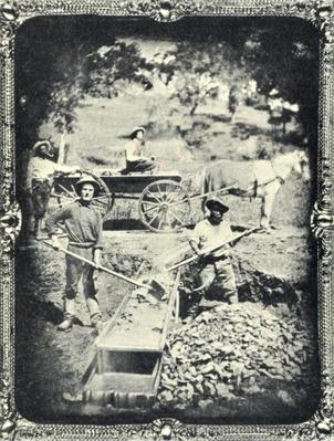 Miners, Spanish Flat, California, 1852 | U.S. Immigration | 1840's to present | U.S. History