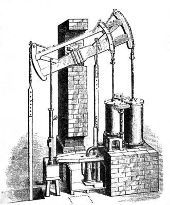 Hornblower's Compound Engine, 1781 | Industrial Revolution