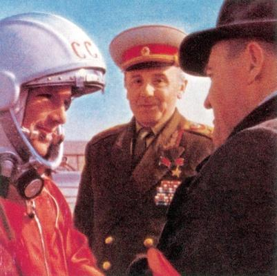 Yuri Gagarin, 1961 | The Cold War | The 20th Century Since 1945: Postwar Politics