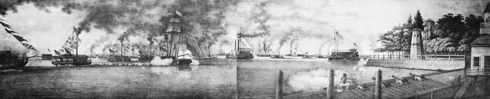 Erie Canal Opening, 1825 | Industrial Revolution