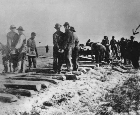 Laying Tracks, 1868 | Industrial Revolution