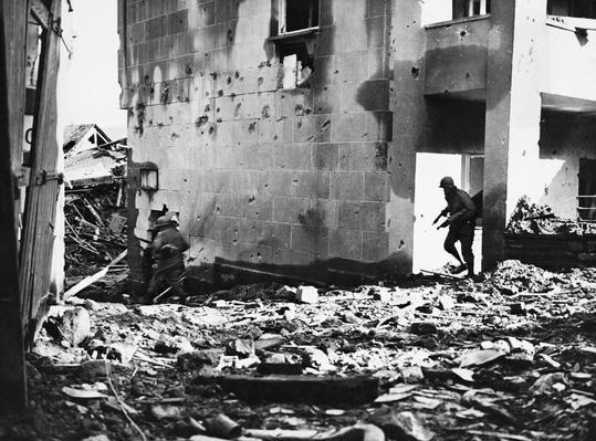WWII Battle at Prum, Germany | World War II