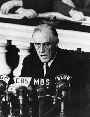 Franklin D. Roosevelt, 32nd U.S. President | World War II