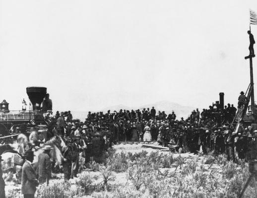 Golden Spike Ceremony, 1869 | Industrial Revolution
