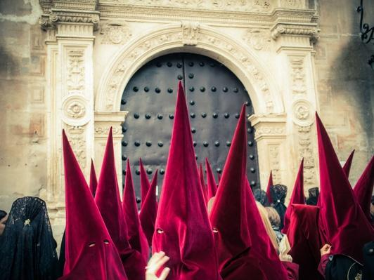 Penitentes during the Holy Week in Spain | World Religions: Christianity