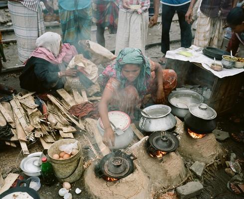 Dhaka Food Stall | Earth's Resources