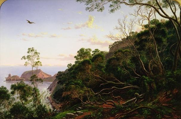 Pulpit Rock near Melbourne, Victoria, 19th century