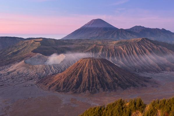 Bromo Volcano Mountain in the Morning | Earth's Surface