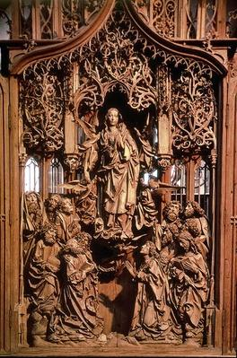 Assumption of the Virgin, central panel of the Marienaltar, 1505-10