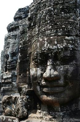 Old Buddha Statue At Angkor Wat Temple | World Religions: Buddhism