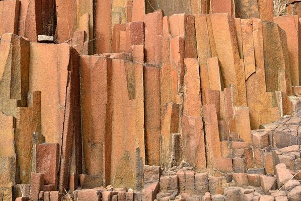 "Basalt Rock Formation ""Organ Pipes"" - Africa, Namibia 