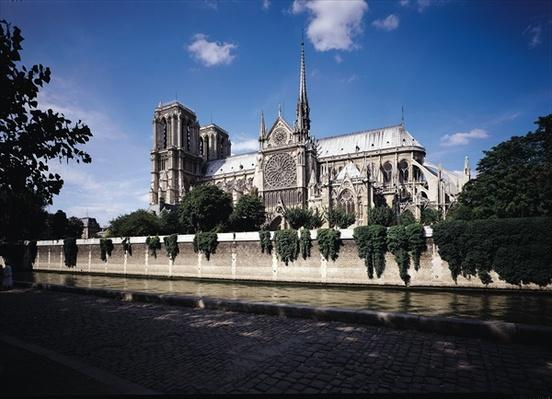 View of the Cathedral from the Seine, 1163-1345