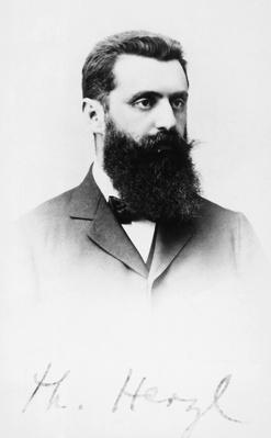 Theodor Herzl (Budapest, 1860-Edlach, 1904) | World Religions: Judaism