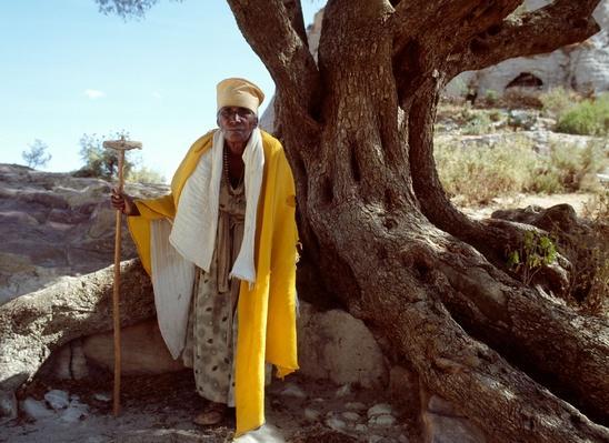 Ethiopian Nun | World Religions: Christianity