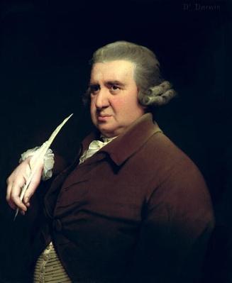 Portrait of Dr Erasmus Darwin