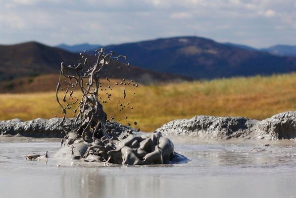 Boiling Mud in Thermal Area | Earth's Surface