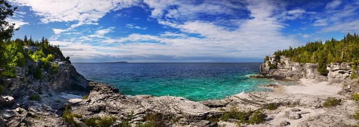Rocky Beach of Georgian Bay, Lake Huron, Ontario, Canada | Earth's Surface