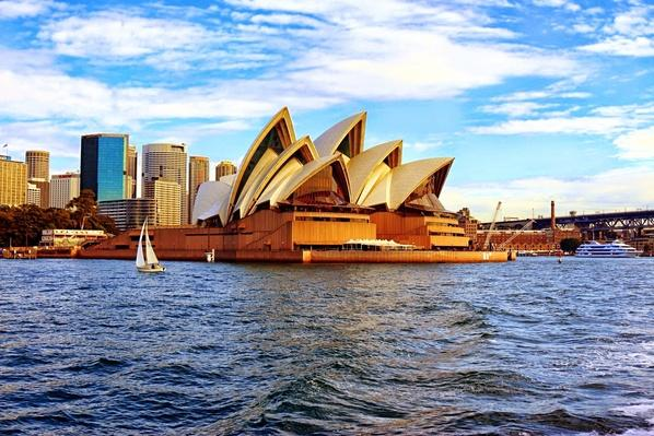View Of Sydney Opera House From Sea | Cityscapes | Geography 14.1