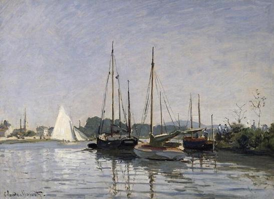 Pleasure Boats, Argenteuil, c.1872-3