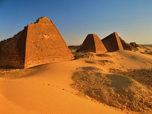 Antique Pyramides in the Desert | Earth's Surface