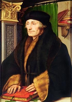 Portrait of Erasmus, 1523