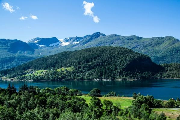 Norway, Alesund, Landscape With Fjord | Earth's Surface