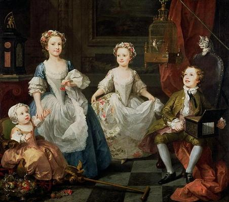 The Graham Children, 1742