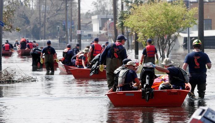 Hurricane Katrina Aftermath - Day 17 | Natural Disasters: Hurricanes, Tsunamis, Earthquakes