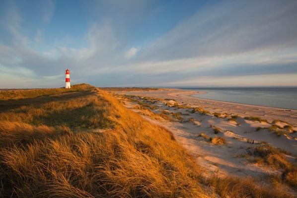 List Ost Lighthouse, Sylt Island, North Sea, Germany | Earth's Surface