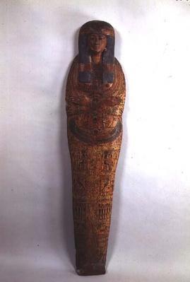 Sarcophagus case of the singer Tentamon, Third Intermediate Period