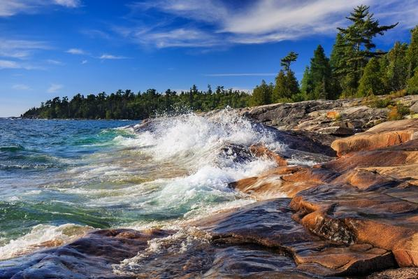 Lake Superior at Catherine Cove - Ontario, Canada | Earth's Surface