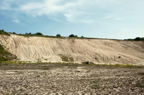 Abandoned Quarry With Eroded Hillside Waste | Earth's Surface