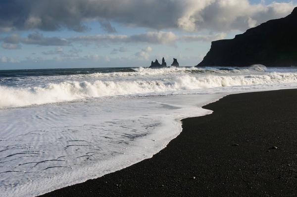Reynisdrangar Sea Stacks and Black Sand Beach, Iceland | Earth's Surface
