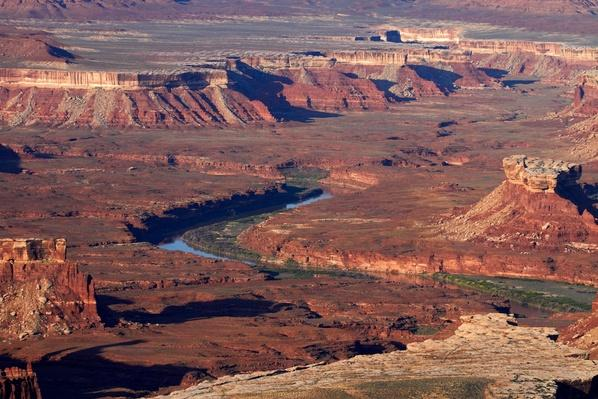 White Rim and Green River,Utah, USA | Earth's Surface
