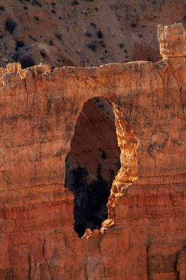 Hole Which Will Eventually Erode Into Hoodoos, Utah, USA | Earth's Surface