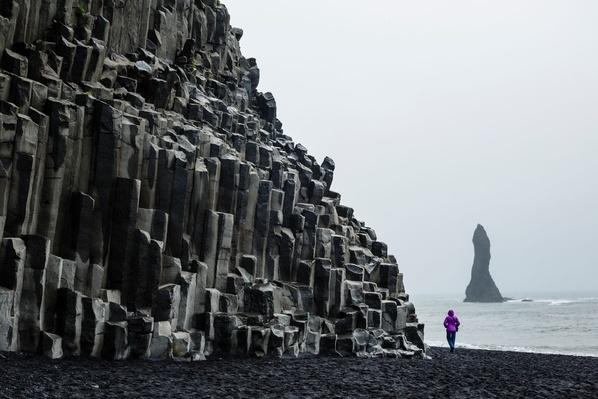 Basalt Columns at the Beach, Iceland | Earth's Surface