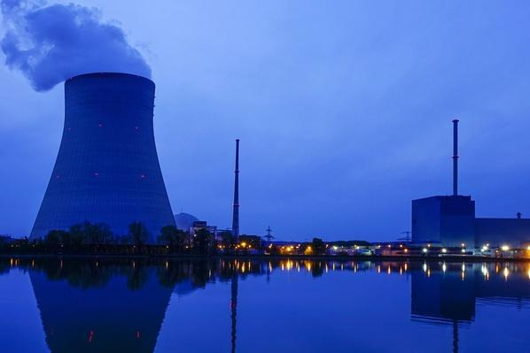 Germany, Bavaria, Landshut, Nuclear Power Plant | Earth's Resources
