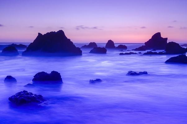 Malibu, El Matador State Beach, Sea Stacks at Dusk | Earth's Surface