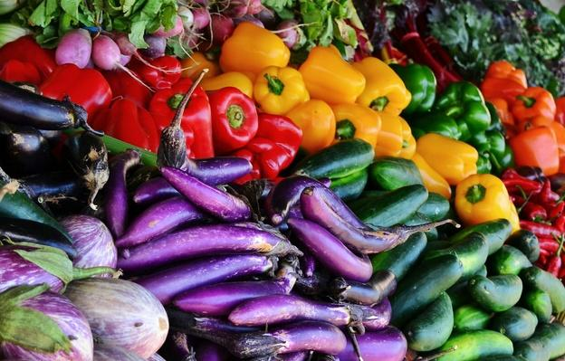 Detail Shot of Vegetables For Sale | Earth's Resources