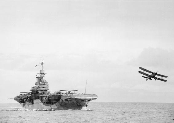 Fairey Albacore biplane torpedo bombers | World War II