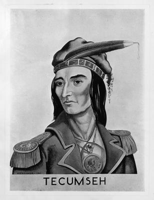 Portrait of Tecumseh (circa 1768-1813) | Native American Civilizations | U.S. History