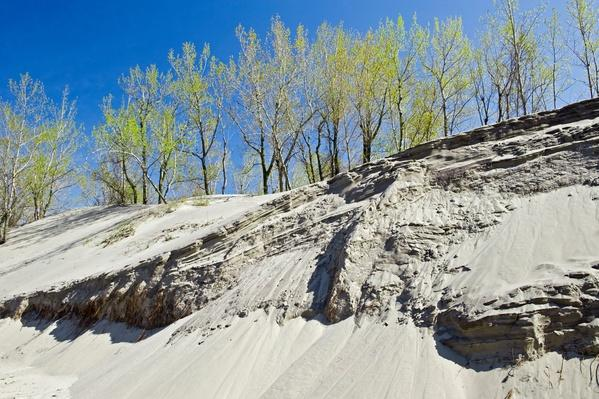 Sand Dunes Along Lake Erie | Earth's Surface