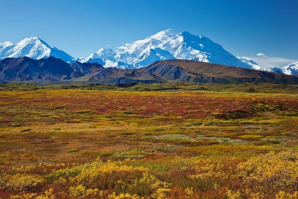 Scenic View of Mt. Mckinley From Grassy Pass | Animals, Habitats, and Ecosystems