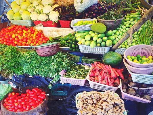 Vegetables For Sale in Market | Earth's Resources