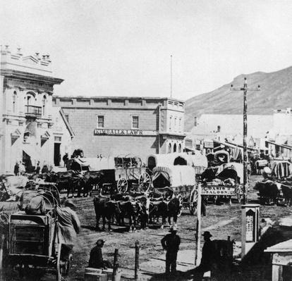 East Temple Street In Salt Lake City | The Wild West is Tamed (1870-1910) | U.S. History