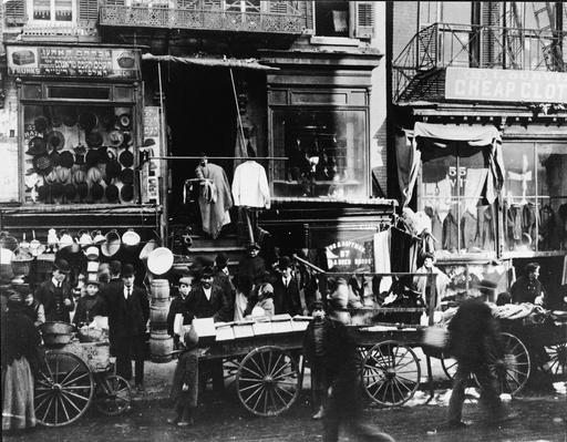 Lower East Side Street Scene | The Gilded Age (1870-1910) | U.S. History